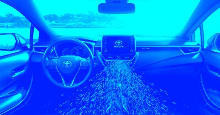 Новый патент Toyota предусматривает распыление заряда слезоточивого газа в глаза автомобильных воров