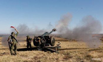 На Донбассе семь обстрелов с начала дня
