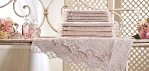 Как можно украсить махровое полотенце?