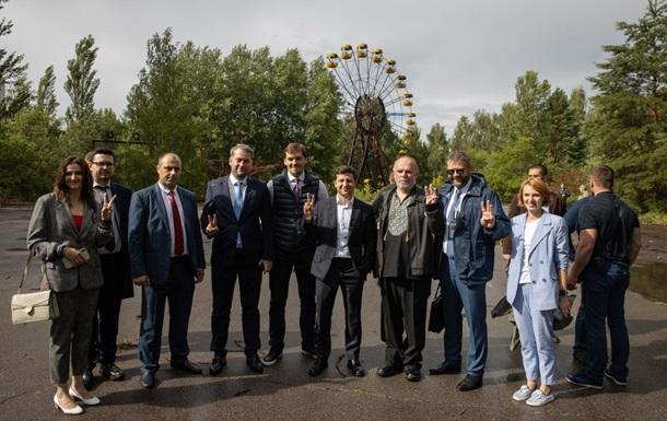 Зеленский разрешил ЕС и НАТО проводить учения в Чернобыле