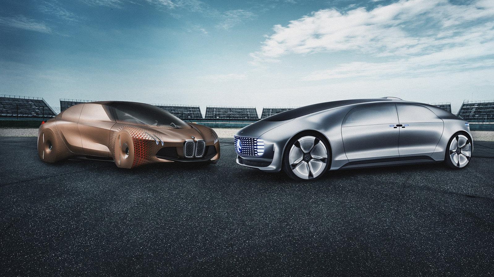 К 2024 году автомобили Mercedes и BMW смогут передвигаться по автобану без участия человека