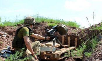 На Донбассе за день три обстрела, ВСУ без потерь