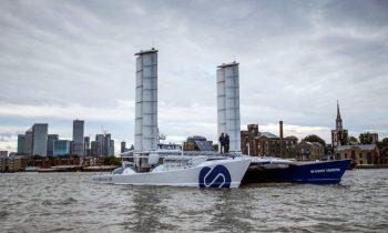Energy Observer — судно, которое производит топливо для движения из морской воды