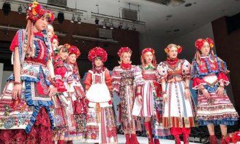 В Японии прошел модный показ украинских вышиванок