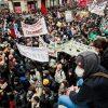 Забастовка во Франции: полиция задержала 71 человека