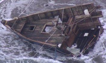 У берегов Японии обнаружили лодку с трупами и головами — СМИ