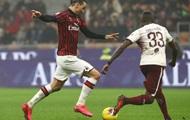 Милан обыграл дома Торино в матче Серии А