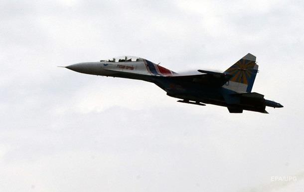 В акватории Черного моря упал российский Су-27