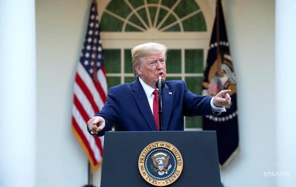 Трамп ожидает пик смертности в США через две недели