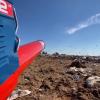 На киевской свалке птиц отпугивают «пушкой»