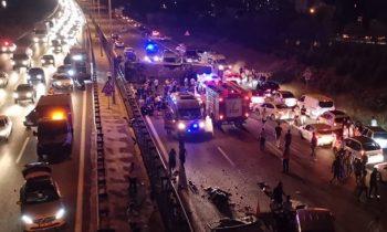 В Турции перевернулся автобус, есть погибший и раненые