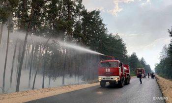 Пожары на Донбассе. Поджог или обстрел?