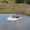 В ВСУ показали форсирование реки на бронетехнике