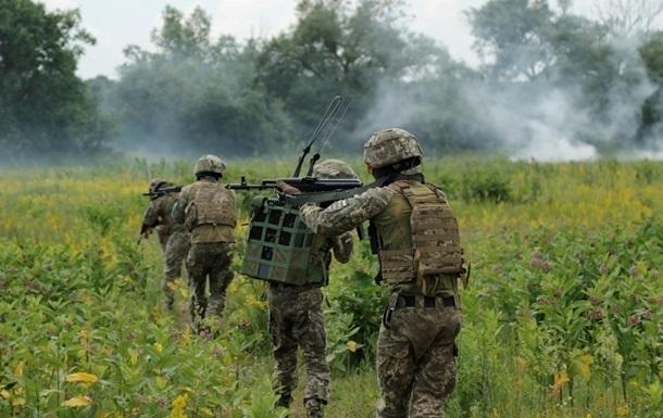 Военные зафиксировали один обстрел на Донбассе