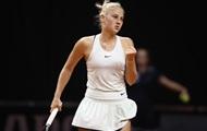 Костюк обыграла первую соперницу в квалификации Palermo Ladies Open