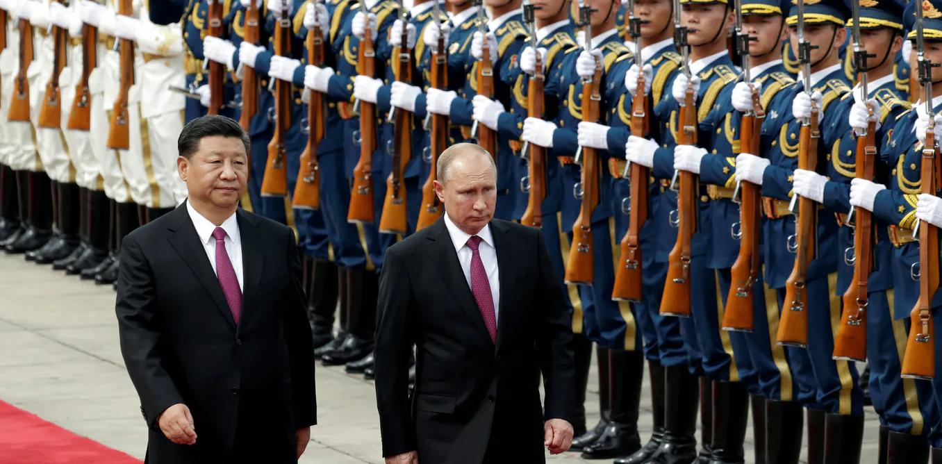 Не следует недооценивать опасность сближения Китая с его давним соперником, Россией