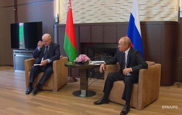 Встреча Лукашенко и Путина завершилась