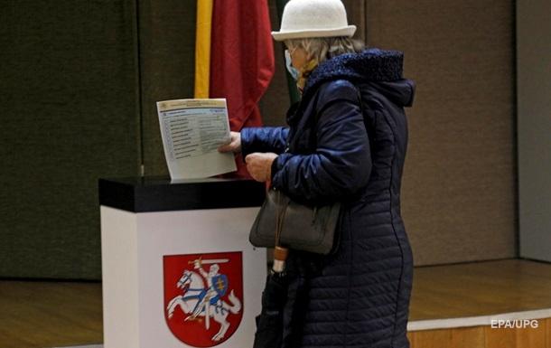 В Литве завершился первый тур парламентских выборов