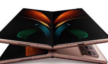 Samsung запатентовала три новых версии Galaxy Z Fold с гибким дисплеем