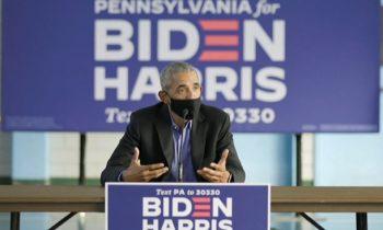 Выборы в США: Обама впервые публично поддержал Байдена
