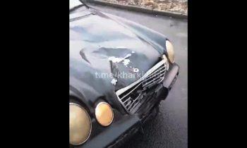 «Его голова у меня в машине»: в Харькове произошло смертельное ДТП