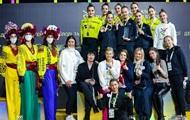 Сборная Украины выиграла золото и бронзу на ЧЕ по художественной гимнастике