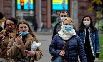 Украина на седьмом месте в мире по приросту COVID
