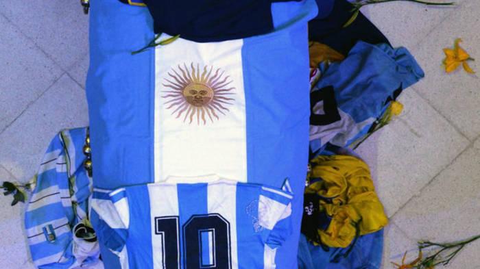 В Аргентине попрощались с Марадоной