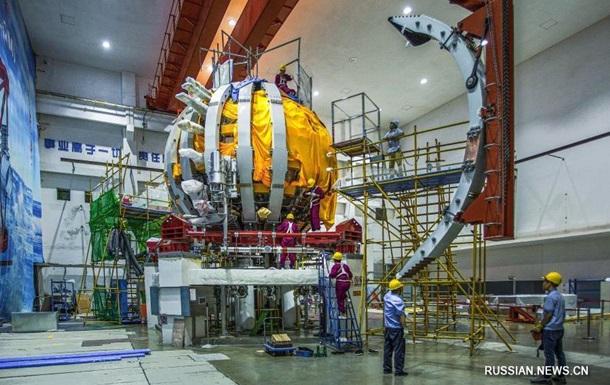 Китай запустил термоядерное искусственное солнце