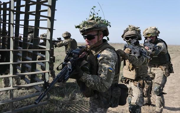 ВСУ провели учения десантно-штурмовых войск