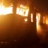 В Киевской области потушили пожар в электропоезде