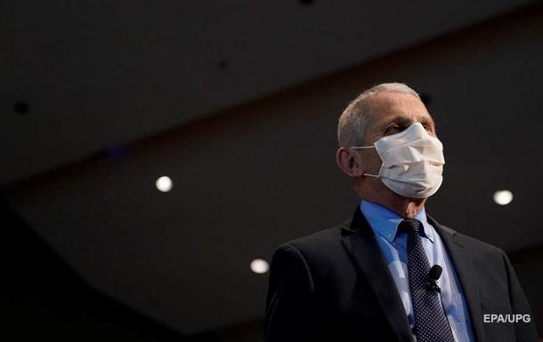 Главный инфекционист США: Худшие времена впереди