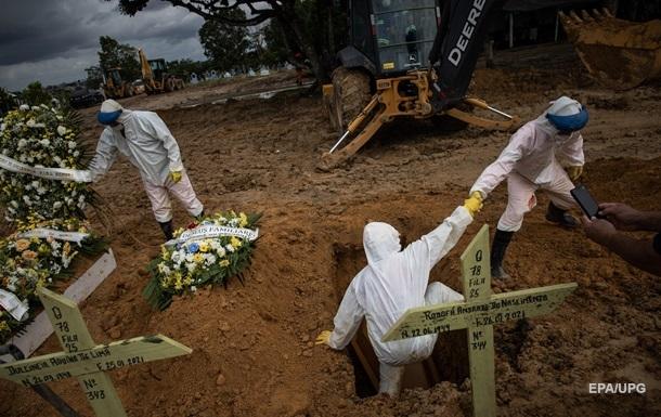 COVID-19: в мире впервые 100 тысяч жертв за неделю