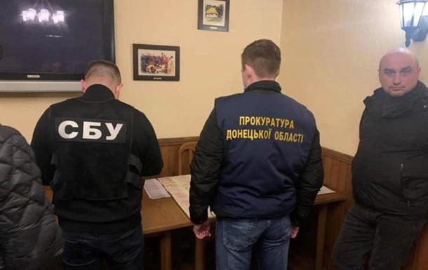 Депутата райсовета в Волновахе задержали на взятке в 25 тысяч гривен