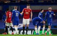 Челси и Манчестер Юнайтед расписали ничью в матче АПЛ