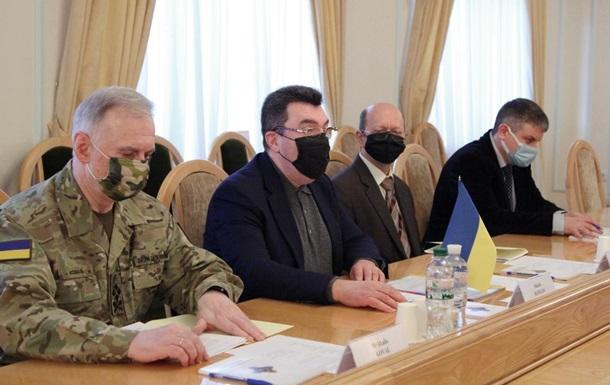 Данилов обсудил Приднестровье и Беларусь с представителями ОБСЕ