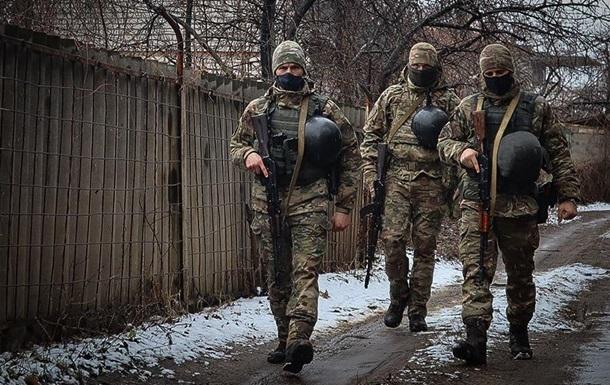 Тишина на Донбассе продержалась почти сутки