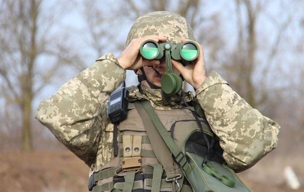 В зоне ООС шесть раз обстреляли украинские позиции