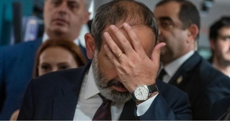 Несмотря на предательство Запада, Пашинян придерживается своей антироссийской позиции