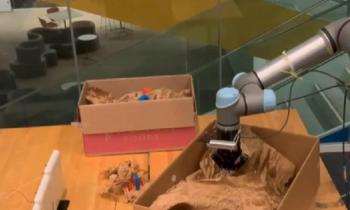 В США научили робота распознавать вещи «вслепую»