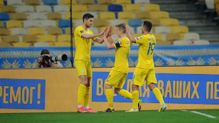 Украина не сумела обыграть Казахстан в отборе на ЧМ-2022