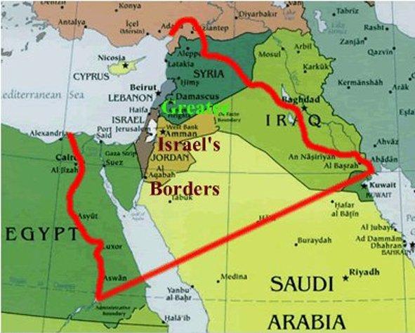 Ближний Восток и «Великий Израиль»: Будет война