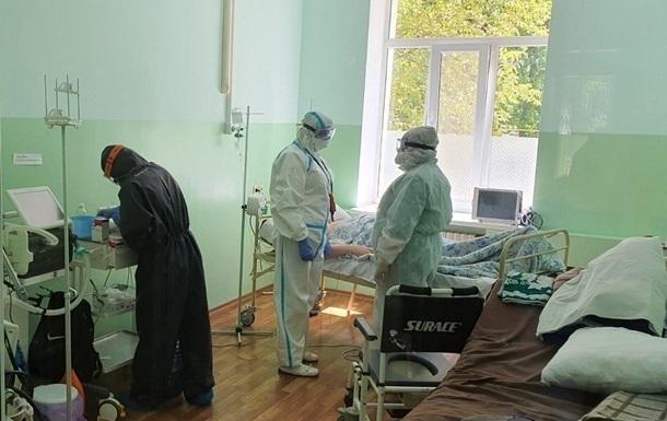 В Украние за день 8,5 тысяч человек заболели COVID