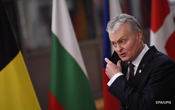 Литва обещает способствовать деоккупации Украины