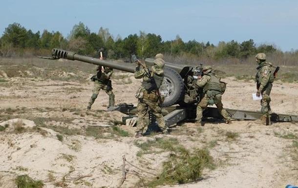 В зоне ООС десантники проводят учения