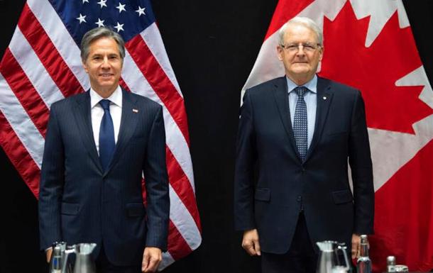 США и Канада обсудили российскую агрессию против Украины