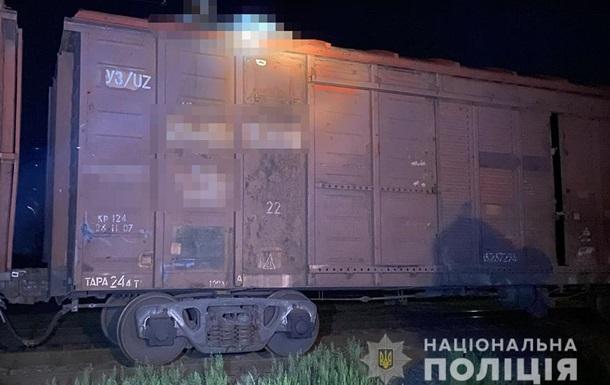 В Житомирской области нашли обгоревшего парня на крыше вагона