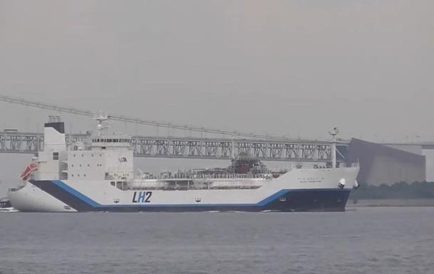 Построен первый в мире танкер для сжиженного водорода