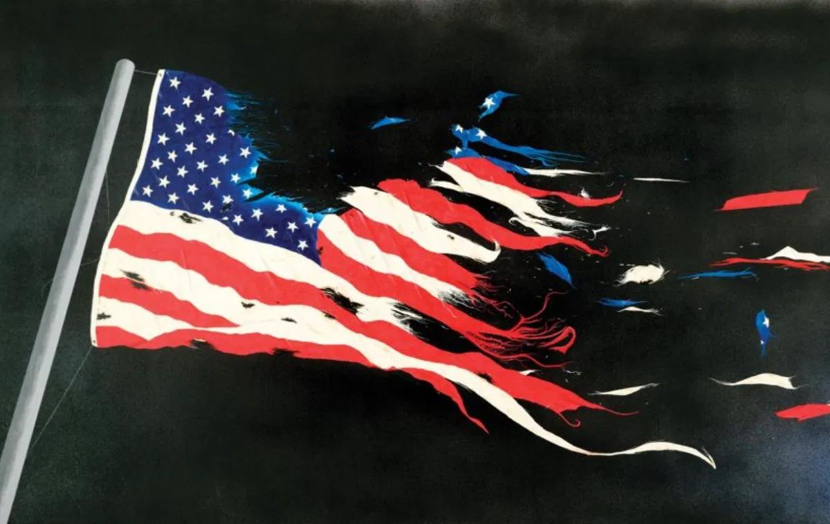 Разваливающиеся Штаты Америки