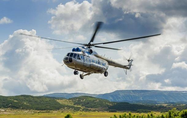В озеро на Камчатке упал вертолет, есть погибшие
